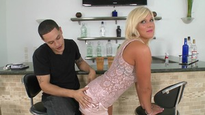 Wives In Pantyhose: Caroline Pierce gets a good fucking video