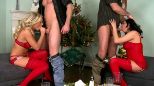 Euro Sex Parties - Teen chick Rebecca gets cum in her pussy