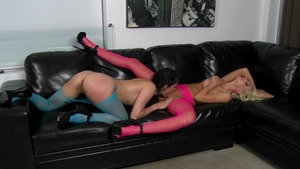 We Live Together: Skinny Lady Love ass licking scene
