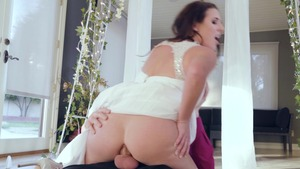RealWifeStories - Angela White POV blowjob sex scene