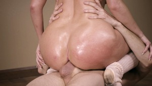 Big Wet Butts - Harley Jade reverse cowgirl