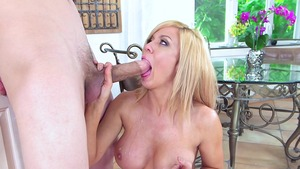 MILFs Like It Big - Clean cumshot along with Parker Swayze