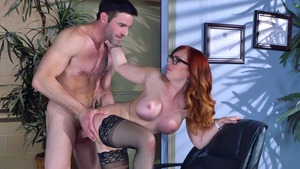Big Tits at Work: Business woman Dani Jensen ballet porn HD