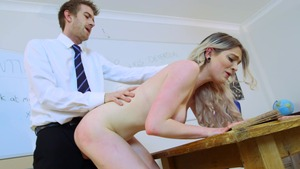 Big Tits at School - Carly Rae fantasy handjob porn