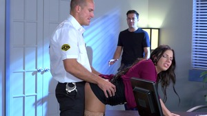 Big Tits at Work: Lylith Lavey and Sean Lawless missionary