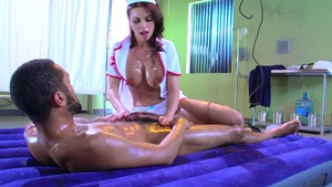 Brazzers.com - Britney Amber in stockings ballet in bath