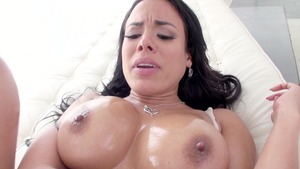 Baby Got Boobs: European Luna Star fingering