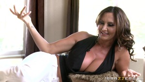 ZZ Series - Ava Addams in shorts ass pounded outdoors