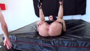 BigWetButts.com: Oiled fingering along with Dollie Darko