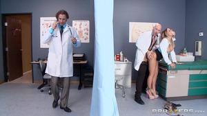 DoctorAdventures: Alexia Vosse starring Lauryn ass fingering