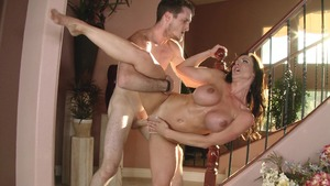 MommyGotBoobs: Sneak sucking cock together with Kendra Lust