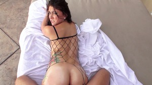 Big Wet Butts: Mandy Muse oily gaping sex tape