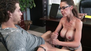 Big Tits at School: Large tits McKenzie Lee ass fingering