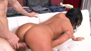 BabyGotBoobs: August Taylor and Erik Everhard cowgirl fuck
