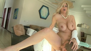MommyGotBoobs - American Julia Ann is really pierced housewife