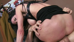Big Tits at Work - Muscled Veronica Avluv wishes spanking