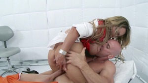 DoctorAdventures: Holly Halston fetish handjob sex video
