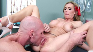 DoctorAdventures: Nurse Tanya Tate ass licking XXX HD
