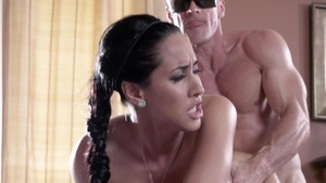 DirtyMasseur - Handjob with piercing Isis Love and Johnny Sins