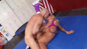 MILFsLikeItBig: Nikita Von James clean ass licking porno