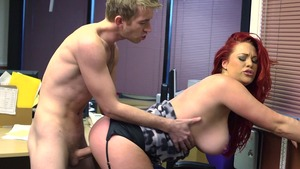 Big Tits at Work - Paige Delight and Danny D scene