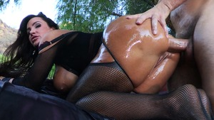 BigWetButts - Big boobs Wet Dream helps with handjob