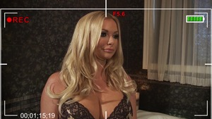 RealWifeStories: Briana Banks masturbation with big dildo