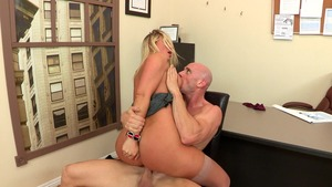 Big Tits at Work - Fantasy cumshot starring Devon Lee