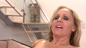 DirtyMasseur - Julia Ann in high heels gets ass licked HD
