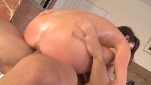 Dirty Masseur: Oily cum on face together with Veronica Avluv