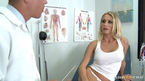 DoctorAdventures - Laura Crystal is brown hair nurse