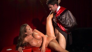 BabyGotBoobs - Reverse cowgirl muscle caucasian Richelle Ryan