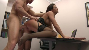 Big Tits at Work - Chanel Preston & Johnny Sins XXX video