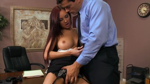 Big Tits at Work: Fingering with Amy Ried and Ramon Nomar