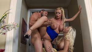 RealWifeStories: Scott Nails starring muscle couple Nikki Benz