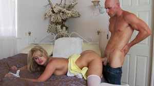 TeensLikeItBig - Janie Summers in shorts and Heather Starlet
