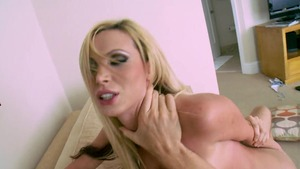 Day With a Pornstar: Wet Nikki Benz tittyfuck handjob