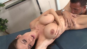 DoctorAdventures.com - Huge boobs McKenzie Lee POV blowjob