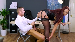 Big Tits at Work - Emma Butt and Marc Rose porno