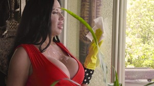 MILFsLikeItBig: Piercing Sybil Stallone blowjob in the spring
