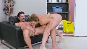 Big Tits at Work - Natasha Nice spanking porn