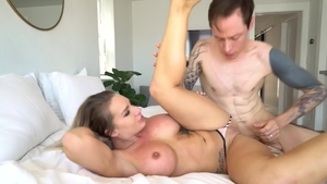 DeepLush - POV plowing hard along with Cali Carter