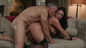 TheTalesFromTheEdge - Huge boobs Angela White throat fucking