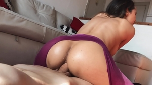 Day With a Pornstar: Oil anal pov sex with Francys Belle