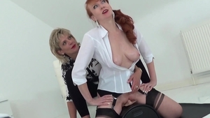 LadySonia.com - Huge boobs british mature hard fun with toys